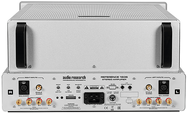 Audio Research Ref160s Tube Power Amplifier