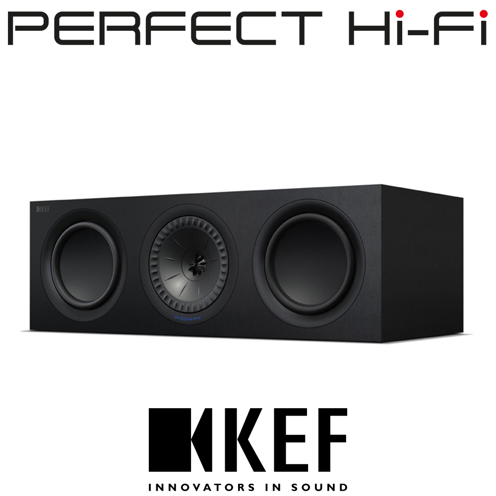 KEF Q650C Center Channel Speaker Without Grille