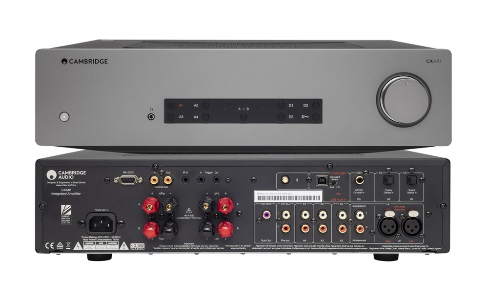 Cambridge Audio CXA81 Integrated Amplifier