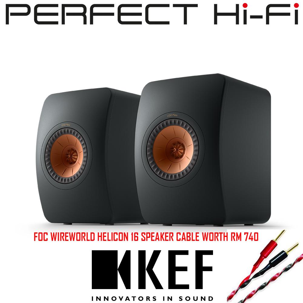 KEF LS50 Meta Bookshelf Speaker