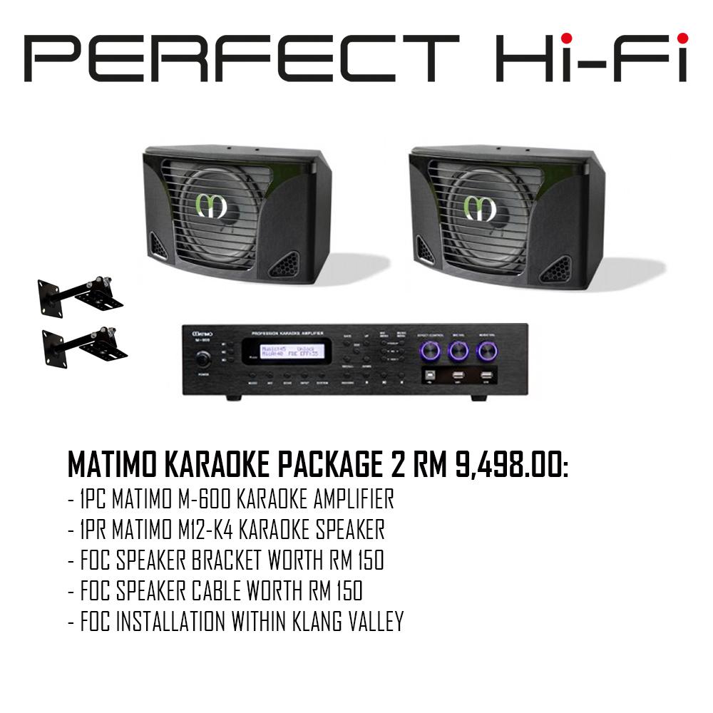 Matimo Karaoke Package 2