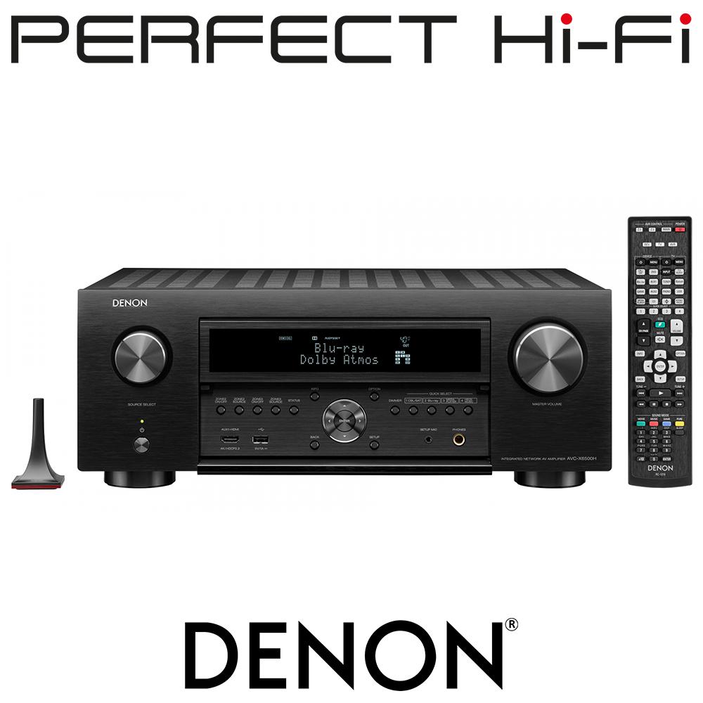 Denon AVC-X6500H Premium 11.2 Channel AV Surround Amplifier
