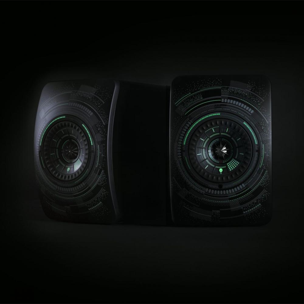 KEF LS50 Wireless Speaker Special Edition Nocturne By Marcel Wanders