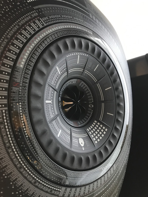 KEF LS50 Wireless Nocturne By Marcel Wanders Special Edition