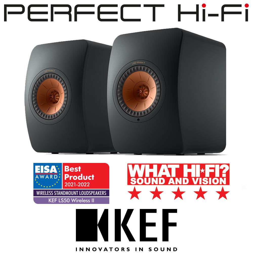 KEF LS50 Wireless II Ultimate Hi-Fi Speaker System