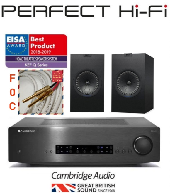 KEF Q350+Cambridge Audio CXA60