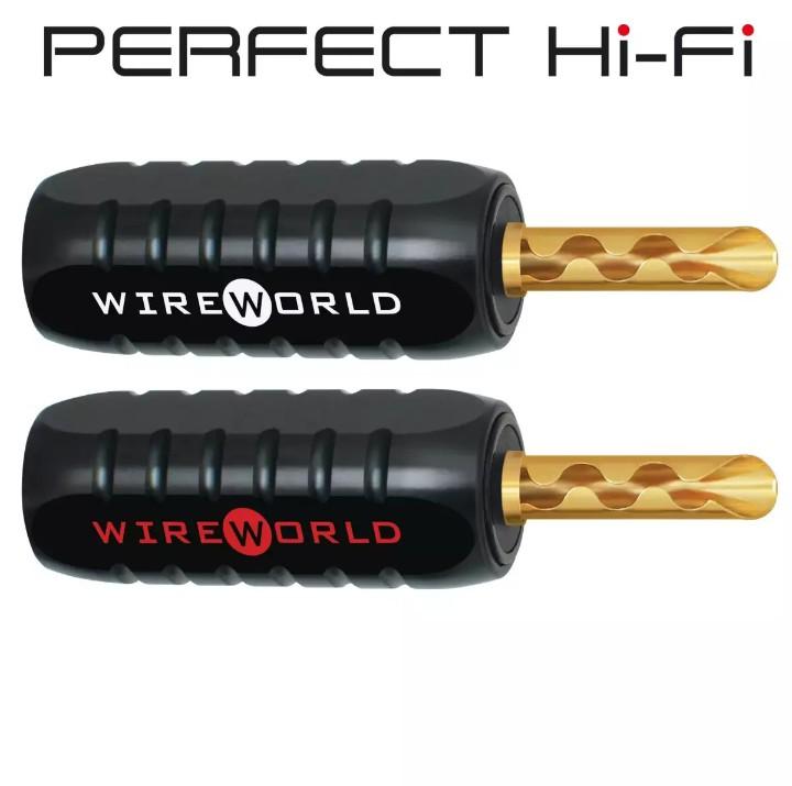 Wireworld BFA Banana Plug Gold Plated 2 PCS