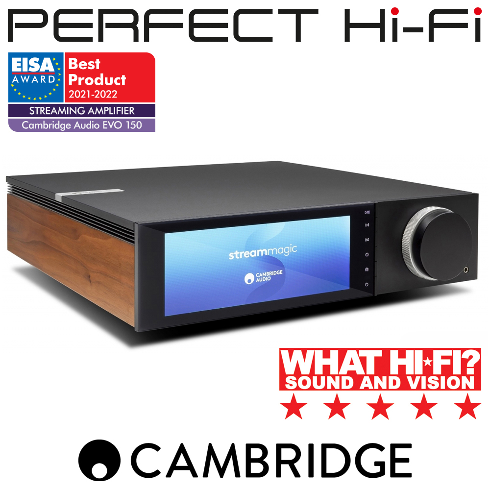 Cambridge Audio Evo 150 All-in-One Network Streamer & Integrated Amplifer