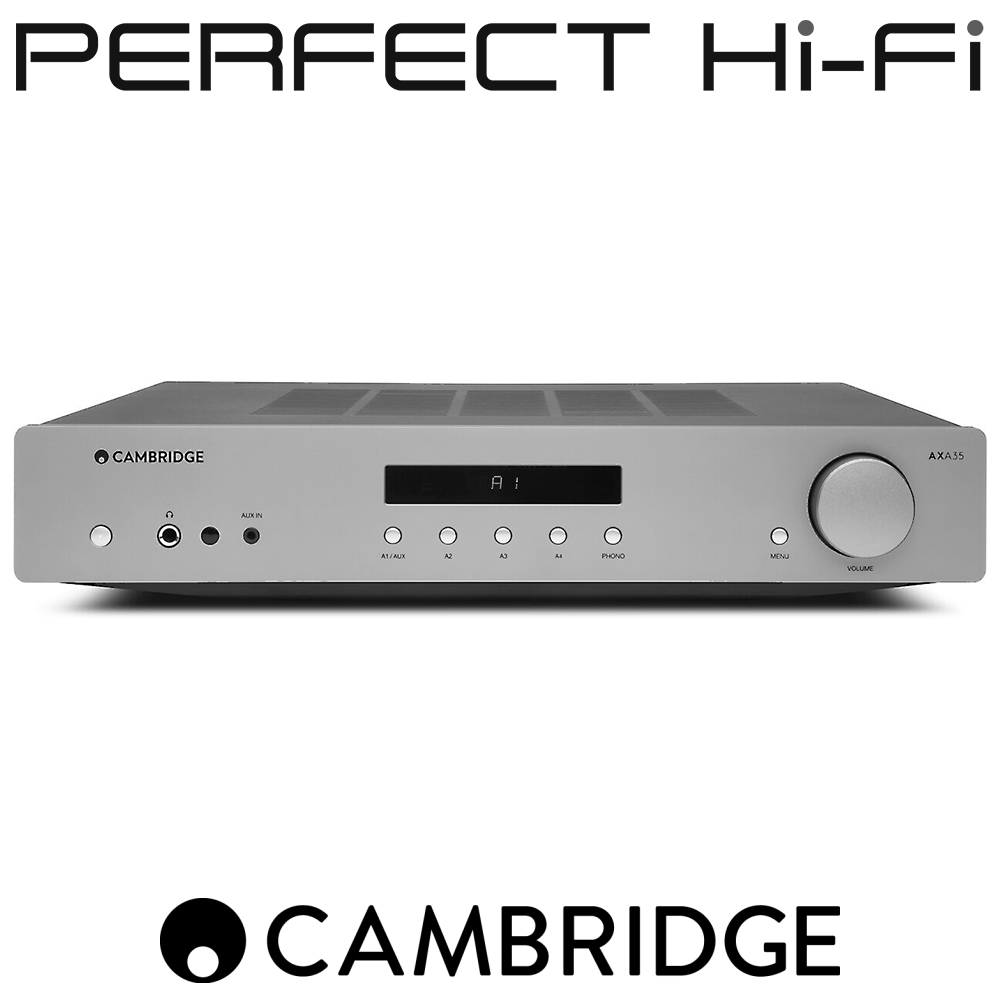 Cambridge Audio AXA35 Integrated Amplifier With Built In Phono-Stage