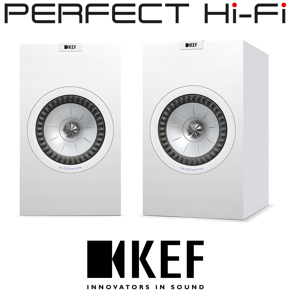 Kef Q150 Bookshelf Speakers Without Grille