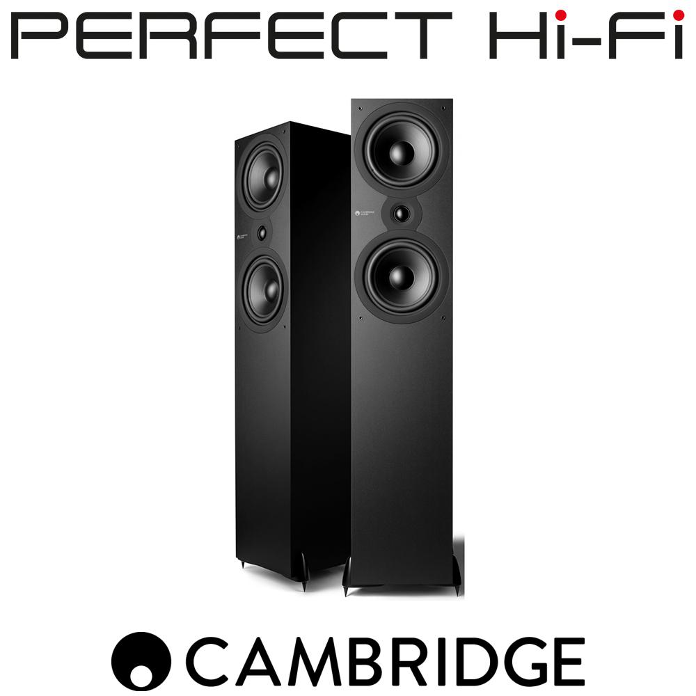 Cambridge Audio SX80 Floorstanding Speakers Matte Black