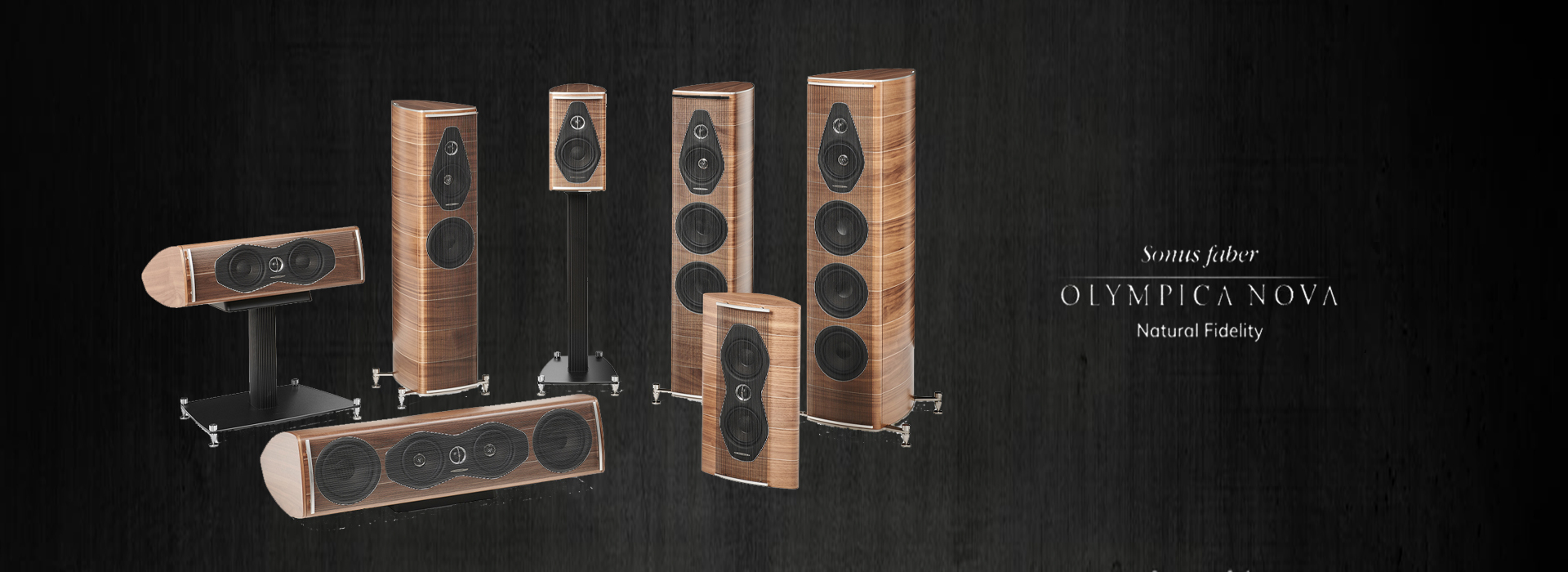 Sonus Faber Olympica Nova Collection